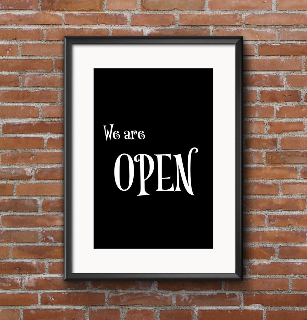 photographic fine art shop is open